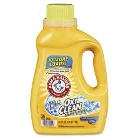 OxiClean Concentrated Liquid Laundry Detergent, 61.25 oz Bottle