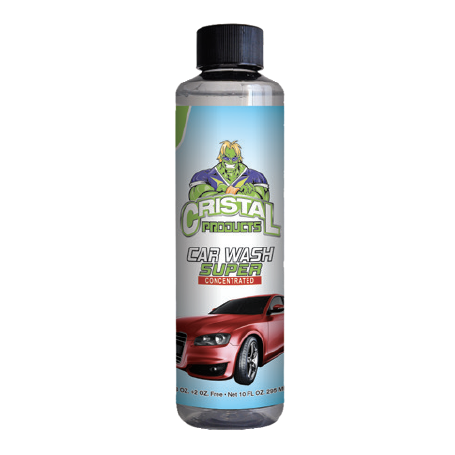 Cristal Car Wash Super Concentrated 10oz.