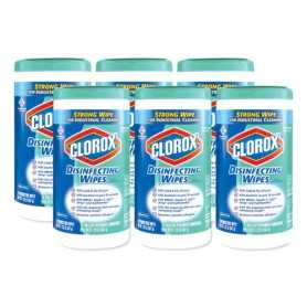Clorox Disinfecting Wipes, 6/Carton