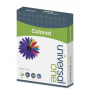 universal Deluxe Colored Paper, 20lb, 8.5 x 11, Blue, 500/Ream