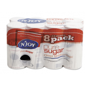 N'JOY Pure Sugar Cane, 22 oz Canisters, 8 per Carton