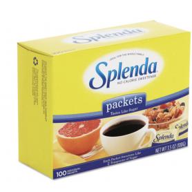 Splenda No Calorie Sweetener Packets, 0.035 oz Packets, 1200 Carton