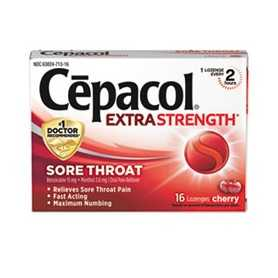 Extra Strength Sore Throat Lozenge