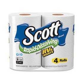 Rapid-Dissolving Toilet Paper