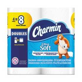 Ultra Soft Bathroom Tissue 4 Rolls/Pack, 12 Packs 48 Rolls/Carton