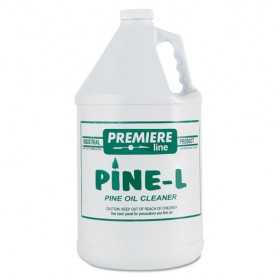 Premier Pine L Cleaner/Deodorizer, Pine Oil, 1gal, Bottle, 4/Carton