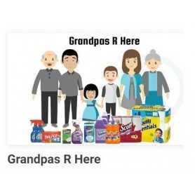 GRANDPAS R HERE - BATHROOM