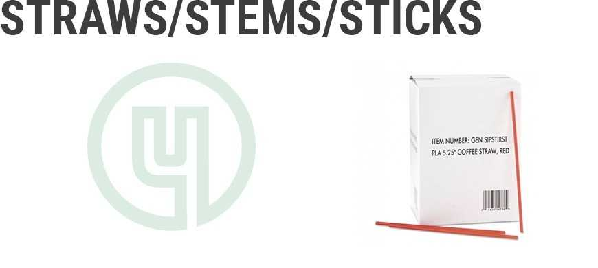 Straws/Stems/Sticks