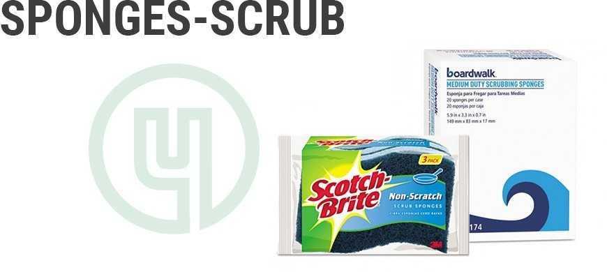 Sponges-Scrub