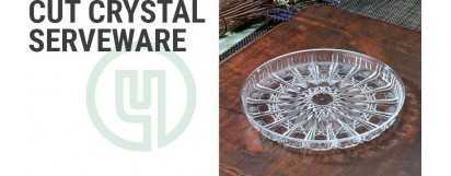 Cut Crystal Serveware