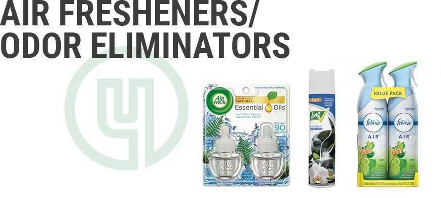 Air Fresheners/Odor Eliminators