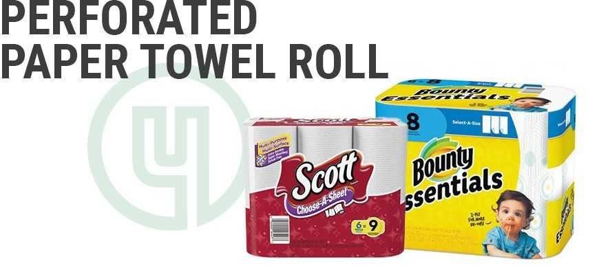 Perforated Paper Towel Roll