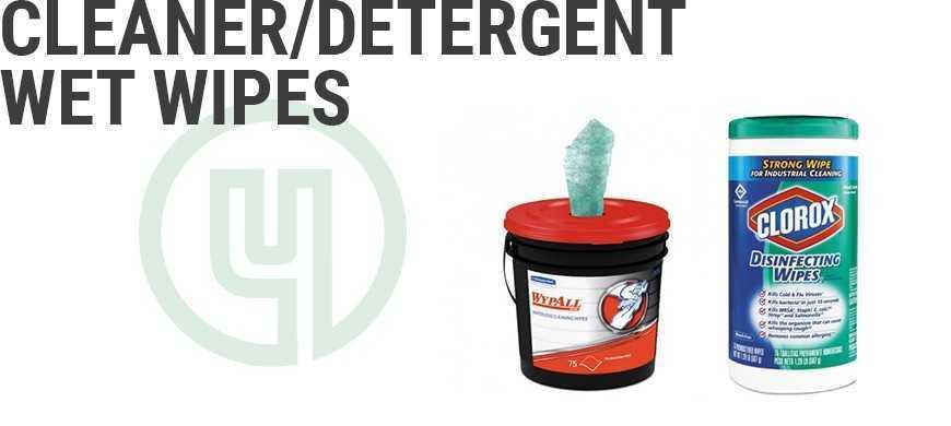 Cleaner/Detergent Wet Wipe
