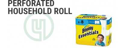 Perforated Household Roll