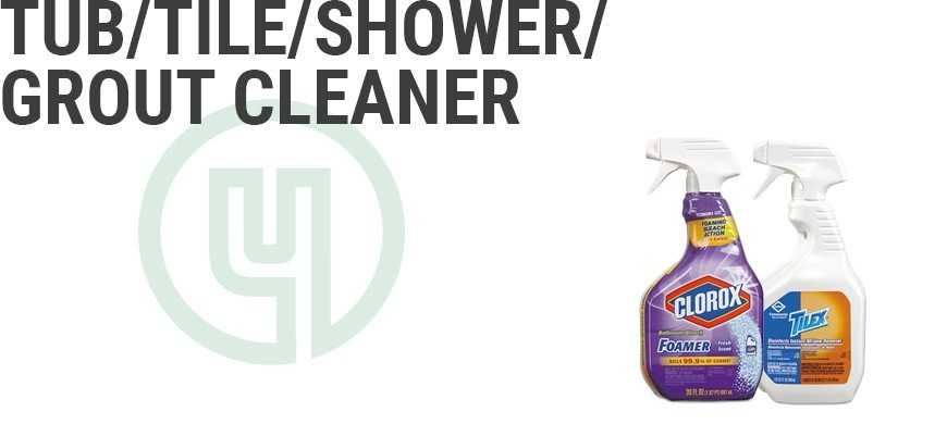 Tub/Tile/Shower/Grout Cleaner